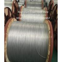 Bare Aluminium Clad Steel Wire For Electric Transmission With Round Wire Material Shaped Manufactures