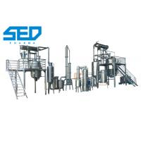 High Efficiency Herbal Oil Extraction Concentration Production Line GMP Standard Type Manufactures