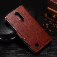 Protective Leather Lg K8 Wallet Case , 5.3 Inch Lg K8 Flip Cover With Card Slot Function Manufactures