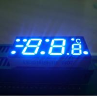 Custom  ultra blue common anode Seven Segment Led Display Apply To Digital Temperature Controller Manufactures