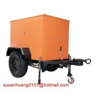Trailer Type Mobile Insulation oil (Transformer oil) Treatment plant / oil purifier Manufactures