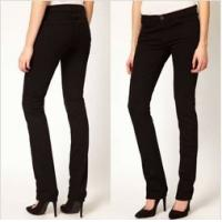 Black High-Rise women Jeans,skinny fit and five pocket styling   Manufactures