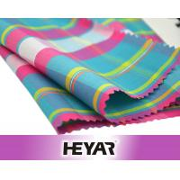 China Suppliers Cheap Cotton Polyester CVC 45S Lurex Yarn Dyed Plaid Gingham Shirt Poplin Fabrics Textile Wholesale Manufactures