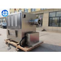 China 500kg/h Capacity Meat Processing Machine Stainless Steel  Frozen Meat Mincer on sale