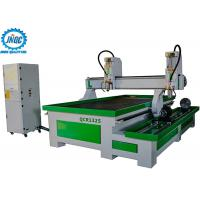 China Dual Spindles 4th Axis Rotary Cnc Router Machine With Water Tank For Aluminum Processing on sale
