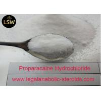 China CAS 5875 06 9 Local Anesthetic Drugs , Pharmaceutical Raw Powder Proparacaine Hydrochloride on sale