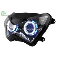 Kawasaki Z250 Motorcycle  Parts HID Blue light Headlight Lens Headlamps Manufactures