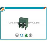 Pitch 5.0mm PCB Screw Terminal Block Connector 2 PIN Green Color Manufactures