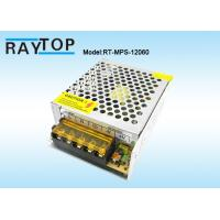 China Metal Enclosure Power Supply 12V 5A for LED Lights and CCTV Surveillance Cameras on sale