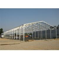 Quick Assembled Prefab Steel Warehouse With Hot Dip Galvanized Frame Manufactures