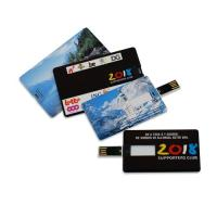 Plastic 64M, 126M, 256M, 2G, 4G Credit Card USB Drives in Win ME, 2000 (MY-UC09) Manufactures