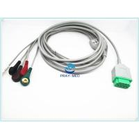 China GE Marqutte ECG Patient Cable With Cip / Snap 11 Pin Connector 2.7m Trunk Cable on sale