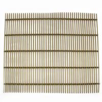 China Modern Decorative Screen Panel Woven Metal Mesh Curtain For Ceiling Tiles on sale
