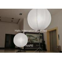 China 3 Ft / 90cm Inflatable Event Decoration 1200W Halogen Lamp With 4.2m Stainless Tripod on sale