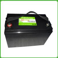 Deep cycle green energy 12v 100ah lithium  battery pack  for camping/RV Manufactures