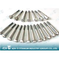 DIN 610 Titanium hexagon fitted bolts , short thread Titanium Fastener Manufactures