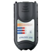 China Truck Diagnosis Construction Scanner 125032 Heavy Duty Vehicle Interface on sale