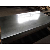 Zero Spangle Hot Dipped Galvanized Steel Sheet , Anti-Finger Treatment ( Acrylic coating ) Manufactures