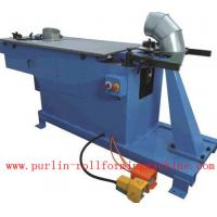 CE Stone Coated Roof Tile Machine For Square Rectangle Downspout / Down Pipe Manufactures
