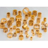Buy cheap Low Noise Oil Impregnated Brass Sleeve Bearing Excellent Wear Resistance from wholesalers