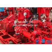 UL Listed Electric Motor Driven Fire Pump End Suction Pump Sets 47.7kw Max Shaft Power Manufactures