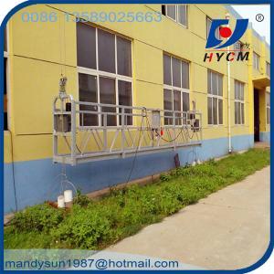 800kg Building Gondola Construction Suspended Platforms 380v/50Hz ZLP800 Working Platform Manufactures