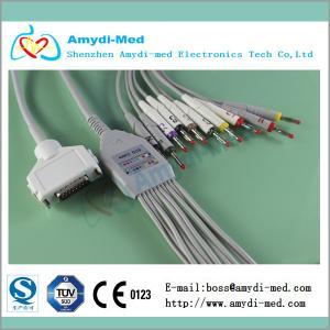 Quality Fukuda Denshi ekg /ECG cable for 10 Leadwires for sale