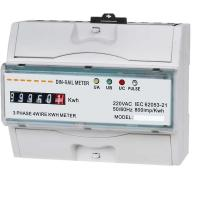 China Three Phase Power Quality Monitoring Equipment KWH Meter With LCD Display on sale