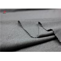 Weft Knit Polyester And Spandex Fabric Melange Single Jersey Fabric For Sportswear Manufactures