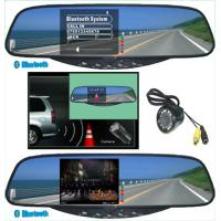 China 3.5TFT Bluetooth Handsfree kits--Bluetooth Stereo Handsfree Rearview Mirror on sale