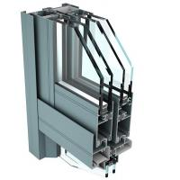 6061 T6 Aluminum Curtain Wall Profile for Industrial Buildings Manufactures