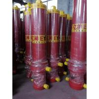 Durable Sinotruk Spare Parts Front End Lifting Dump Truck Telescopic Hydraulic Cylinder Manufactures