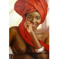100% Handmade Portrait- Nude (Sexy) Oil Painting on Canvas Manufactures