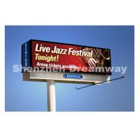 10 mm Outdoor LED Billboard with Synchronous Control Meanwell Power Manufactures