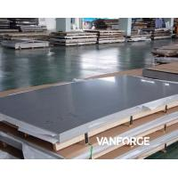China ASTM A240 S31803 S32205 Stainless Steel Flat Plate Excellent Weldability on sale