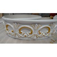 China Polyurethane Flexible Carving Chair Rails Decorative Cornice Moulding on sale