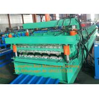 China Color Steel Glazed Tile And Roofing Sheet Forming Machine 8-12m/Min Speed on sale