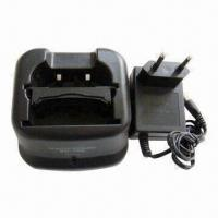China Walkie Talkie Charger for Battery BP-209/BP-210, with 12V DC Desktop Input on sale