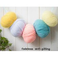 Wholesale crochet yarn cotton /acrylic yarn for hand knitting yarn Manufactures