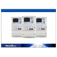 Three Phase Electronic Energy Meter , Smart Remote Prepaid Electricity Meter Manufactures