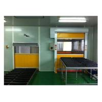 Wind Speed 25 m/s Air Shower Tunnel Automatic PVC Curtain Inductive Door Opening Manufactures