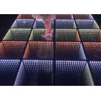 China Tempered Glass HD Video Interactive 3D Led Starlit  Dance Floor Dj Lighting on sale