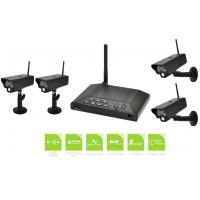 720P IP54 4CH Wireless Security Camera Systems For Home Weather Proof Manufactures