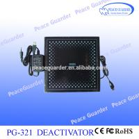 China Toughened Glass EAS RF Deactivator Customizable For Soft Label Removing on sale