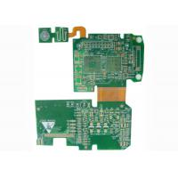 Controller Rigid Flexible PCB Printed Circuit Board with BGA / Fids / PTH Vias Manufactures