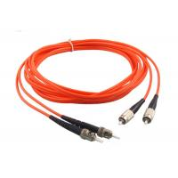 ST LC SC FC Multimode Fiber Patch Cord 1 / 2 / 5M Length -40 - 75℃ Operating Manufactures