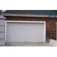 White Insulated Garage Doors Non-finger Protection , 40mm Steel Panel Manufactures