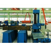 Column End Face Milling Machine for T - beam , H beam ,  Box Column in Welding Production Line Use Milling Head Manufactures