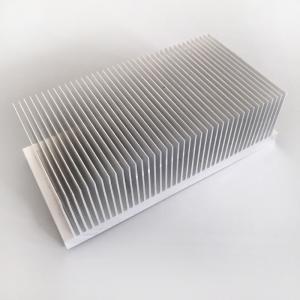 Aluminum Heat Sink Cooling Temperature 200(W)*60(H)*120(L)mm Manufactures