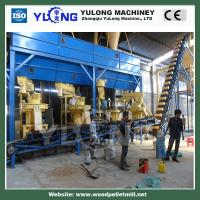 Automatic Biomass Pellet Production Line Sawdust Briquette Making Machine Manufactures
